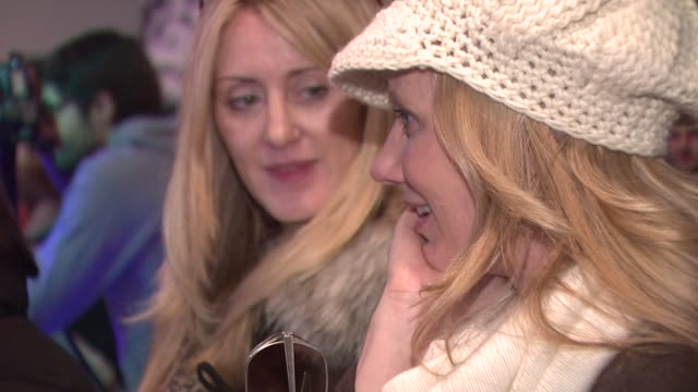 anne heche at the 2009 sundance film festival - rock band lounge at park city ut. - anne heche stock videos & royalty-free footage