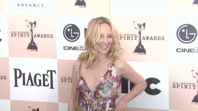 Anne Heche at the 2011 Independent Spirit Awards Arrivals at Santa Monica CA