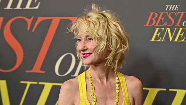 """anne heche at """"the best of enemies"""" new york premiere at amc loews lincoln square on april 04, 2019 in new york city. - anne heche stock videos & royalty-free footage"""