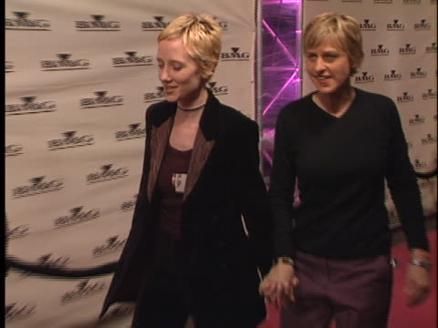 Anne Heche at the BMG Grammy Party at