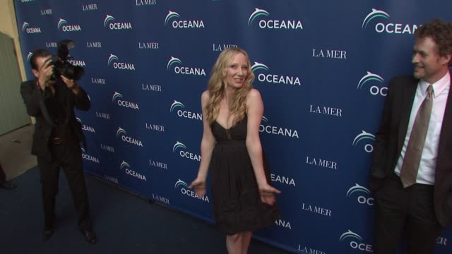 anne heche at the oceana & la mer celebrates world oceans day at los angeles ca. - anne heche stock videos & royalty-free footage