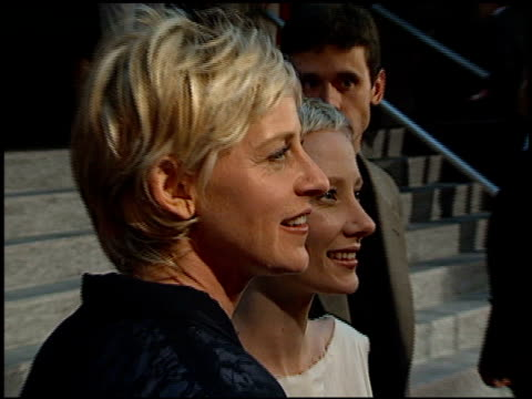 anne heche at the 'six days, seven nights' premiere at academy theater in beverly hills, california on june 8, 1998. - anne heche stock videos & royalty-free footage