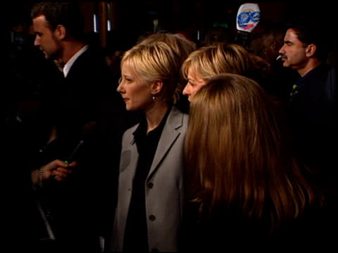 anne heche at the 'sphere' premiere on february 11, 1998. - anne heche stock videos & royalty-free footage