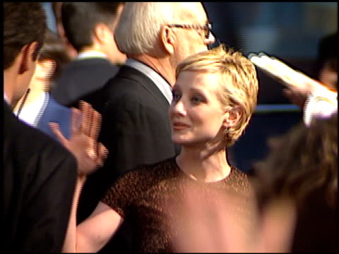 anne heche at the 'volcano' premiere at grauman's chinese theatre in hollywood, california on april 15, 1997. - anne heche stock videos & royalty-free footage