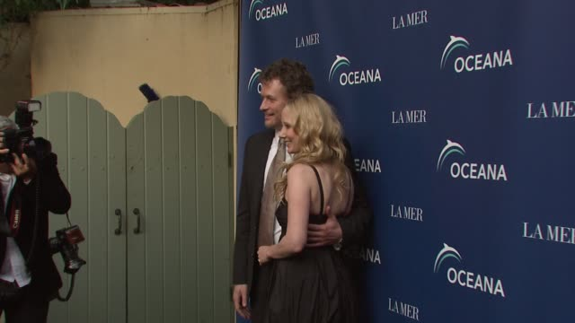 anne heche & james tupper at the oceana & la mer celebrates world oceans day at los angeles ca. - anne heche stock videos & royalty-free footage