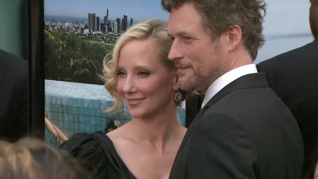 anne heche, james tupper at the 'spread' premiere at hollywood ca. - anne heche stock videos & royalty-free footage