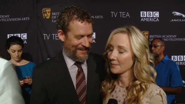 INTERVIEW Anne Heche James Tupper on the event the last time she had high tea Emmy weekend at BAFTA LA TV Tea 2014 Presented By BBC America and...