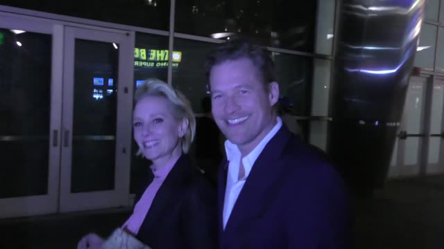 INTERVIEW Anne Heche James Tupper talk about the movie The Last Word outside ArcLight Theatre in Hollywood in Celebrity Sightings in Los Angeles