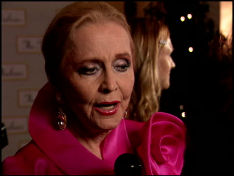 anne jeffreys at the thalians ball 50th anniversary at the century plaza hotel in century city, california on october 8, 2005. - thalians ball stock-videos und b-roll-filmmaterial