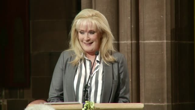 anne kirkbride memorial service in manchester manchester cathedral int beverley callard tribute sot so much love in one room for one person that's... - will.i.am stock videos & royalty-free footage