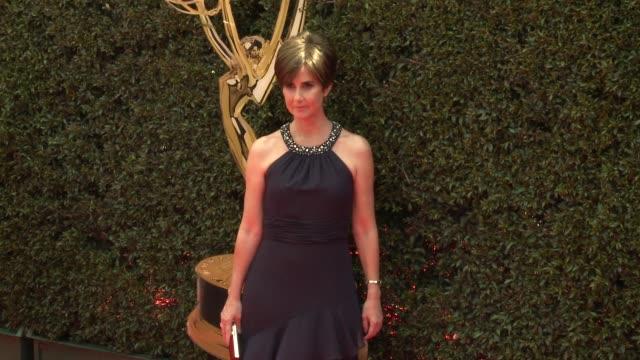 Anne Marie Cummings at the 2018 Daytime Emmy Awards at Pasadena Civic Auditorium on April 29 2018 in Pasadena California