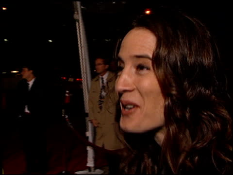 anne ramsay at the 'go' premiere at the cinerama dome at arclight cinemas in hollywood california on april 7 1999 - cinerama dome hollywood stock videos and b-roll footage