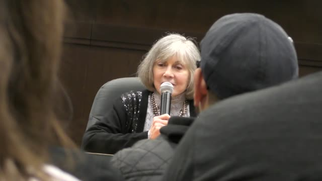 interview anne rice talks about her new book at barnes noble at the grove in hollywood in celebrity sightings in los angeles - barnes & noble stock videos & royalty-free footage