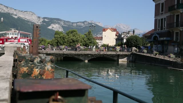 Annecy Old Town with Bridge