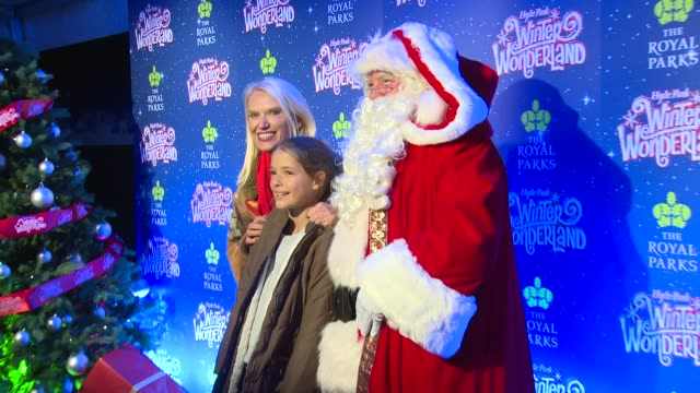 anneka rice at hyde park winter wonderland on november 16, 2017 in london, england. - anneka rice stock videos & royalty-free footage