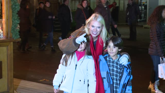 anneka rice at winter wonderland launch at hyde park on november 21, 2013 in london, england - anneka rice stock videos & royalty-free footage