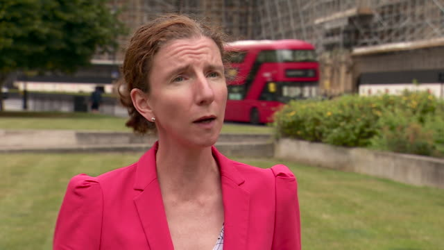 anneliese dodds saying it is important for the government consider the longterm costs of unemployment for young people - b roll stock videos & royalty-free footage