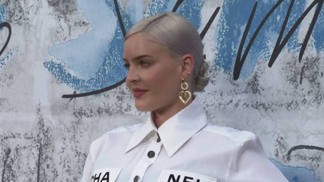 annemarie at the summer party 2019 presented by chanel serpentine galleries at the serpentine gallery on june 25 2019 in london england - the serpentine gallery stock videos & royalty-free footage