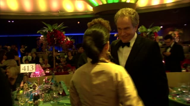 annette bening and warren beatty at the 2011 governors ball at hollywood ca - annette bening stock videos & royalty-free footage