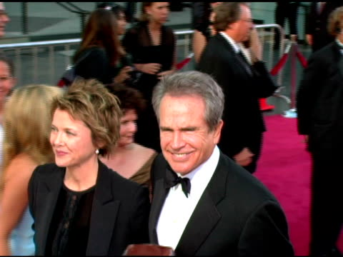 Annette Bening and Warren Beatty at the 33rd AFI Life Achievement Award 'A Tribute to George Lucas' at the Kodak Theatre in Hollywood California on...