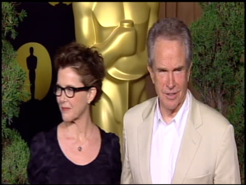 annette bening and warren beatty at the 83rd academy awards nominations luncheon at beverly hills ca - beverly beatty stock videos & royalty-free footage