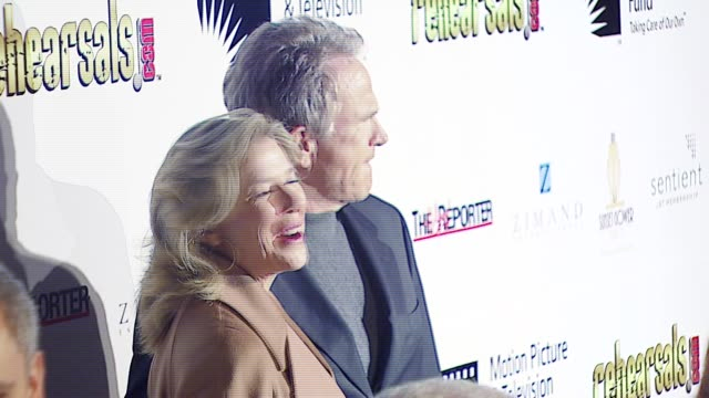 annette bening and warren beatty at the 'a fine romance' event celebrating the love affair between hollywood and broadway at sunset gower studios in... - warren beatty stock videos & royalty-free footage