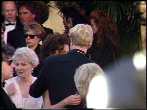 annette bening at the 1991 academy awards at the shrine auditorium in los angeles california on march 25 1991 - annette bening stock videos & royalty-free footage