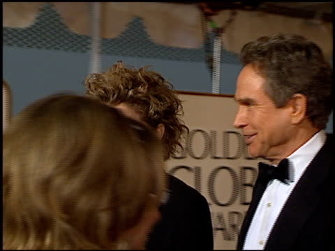 annette bening at the 1999 golden globe awards at the beverly hilton in beverly hills, california on january 24, 1999. - annette bening stock videos & royalty-free footage