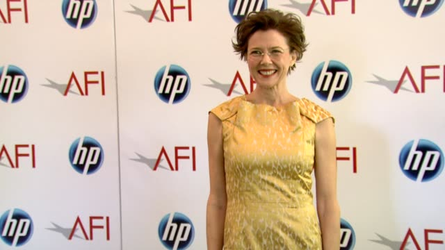 annette bening at the 2010 afi awards at los angeles ca - annette bening stock videos & royalty-free footage