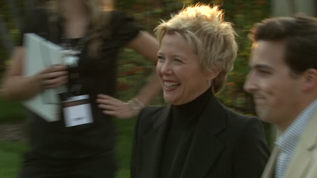 annette bening at the 8th annual chrysalis butterfly ball at los angeles ca. - annette bening stock videos & royalty-free footage