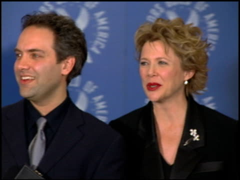 annette bening at the dga awards press room on march 11 2000 - annette bening stock videos & royalty-free footage