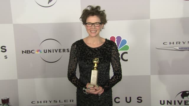 annette bening at the nbc universal's 68th annual golden globes after party at beverly hills ca - annette bening stock videos & royalty-free footage