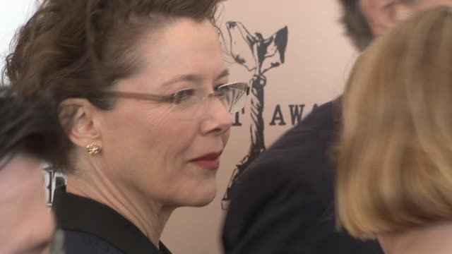 annette bening at the piaget at the 2011 independent spirit awards at santa monica ca - annette bening stock videos & royalty-free footage