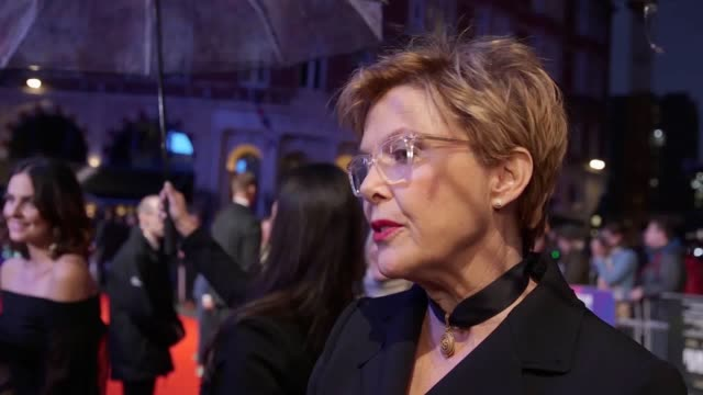 annette bening says most women have experienced sexual harassment at work the american actress was speaking at the premiere of the new film film... - annette bening stock videos & royalty-free footage