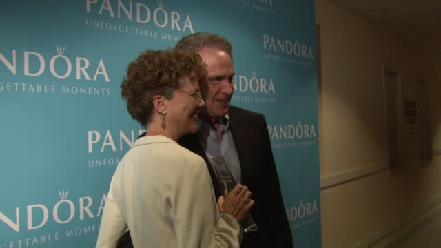 annette bening warren beatty at the 2011 women in film crystal lucy awards sponsored by pandora and max mara at beverly hills ca - beverly beatty stock videos & royalty-free footage