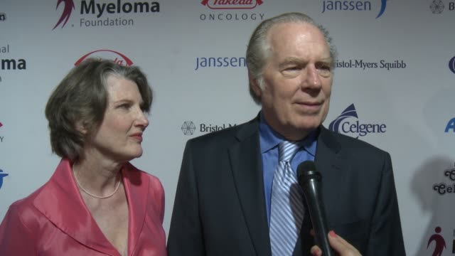 annette o'toole, michael mckean on the event at international myeloma foundation's 10th annual comedy celebration benefiting the peter boyle research... - peter boyle stock videos & royalty-free footage