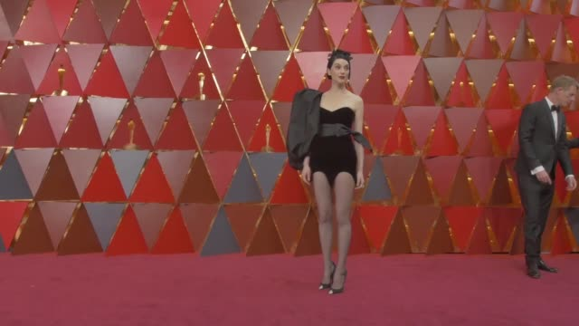 annie clark at dolby theatre on march 04 2018 in hollywood california - 90th annual academy awards stock videos & royalty-free footage