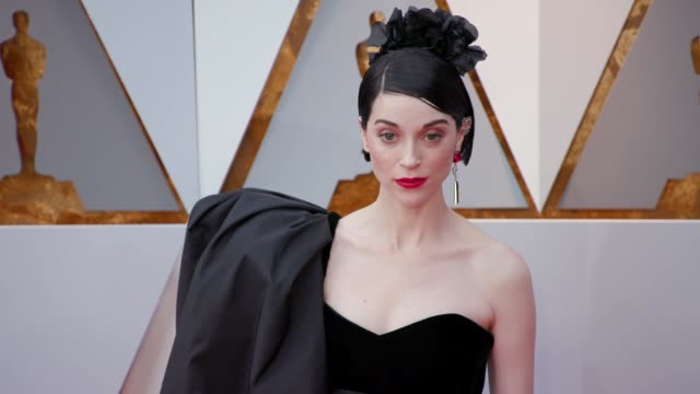 Annie Clark at the 90th Academy Awards Arrivals at Dolby Theatre on March 04 2018 in Hollywood California
