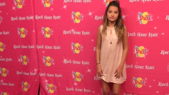 vidéos et rushes de annie leblanc at the rock your hair presents - rock back to school concert and party at avalon on september 30, 2017 in hollywood, california. - rock moderne