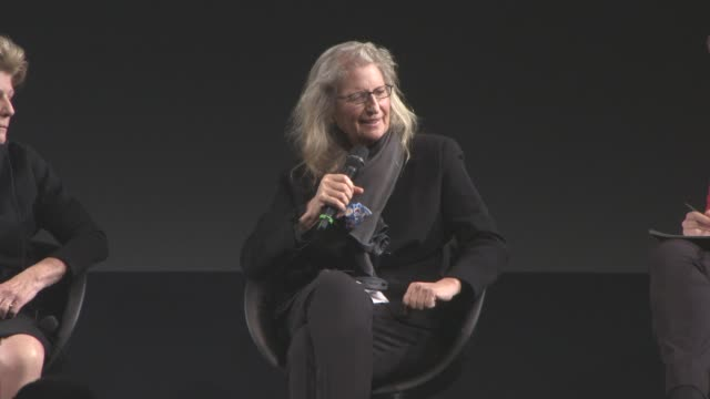 INTERVIEW Annie Leibovitz on the Pirelli Calendar at 2016 Pirelli Calendar Press Conference at Grosvenor House on November 30 2015 in London England