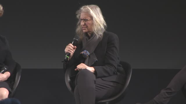 interview annie leibovitz on the use of digital enhancement on the images if this is a watershed moment for pirelli making this type of calendar at... - digital enhancement stock videos and b-roll footage