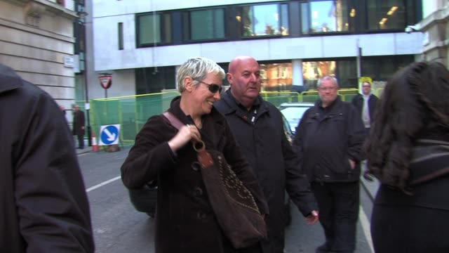 Annie Lennox arrives at BBC Radio Two Studios SIGHTED Annie Lennox on March 04 2011 in London England