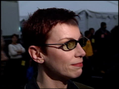 Annie Lennox at the 2000 American Music Awards at the Shrine Auditorium in Los Angeles California on January 17 2000