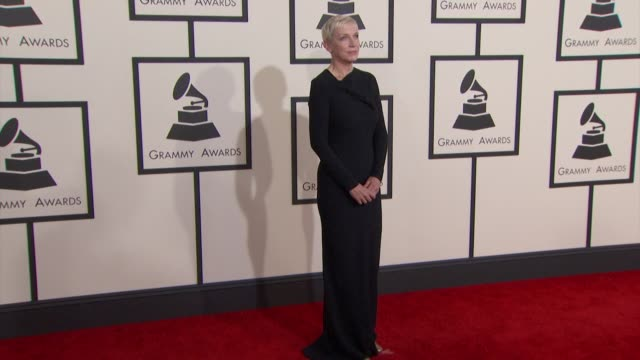 Annie Lennox at the 57th Annual Grammy Awards Red Carpet at Staples Center on February 08 2015 in Los Angeles California