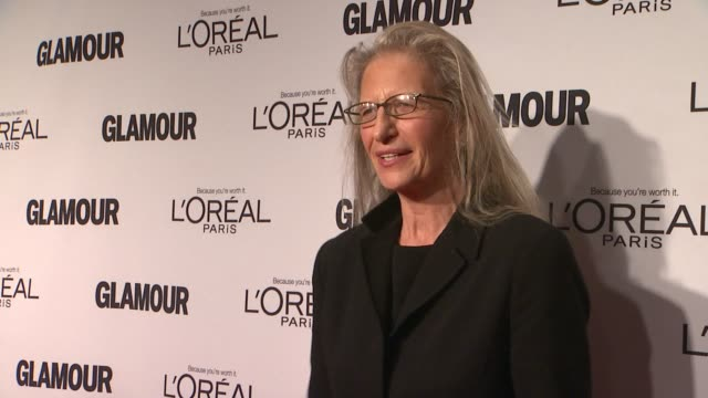 Annie Liebovitz at Glamour Magazine's 22nd Annual Women Of The Year Awards at Carnegie Hall on November 12 2012 in New York New York