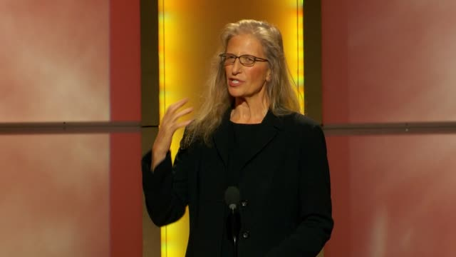 Annie Liebovitz says she brought her daughter tonight to see the amazing women here at Glamour Magazine's 22nd Annual Women Of The Year Awards at...