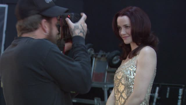 annie wersching at the behind the scenes annie wersching at los angeles ca - annie wersching stock videos and b-roll footage