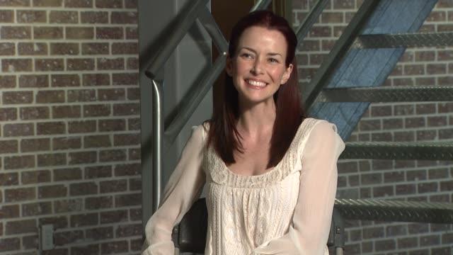 annie wersching on her dream role at the behind the scenes annie wersching at los angeles ca - annie wersching stock videos and b-roll footage