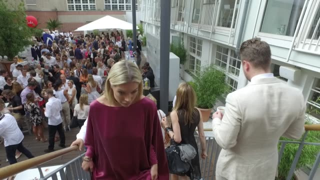 Annika Gassner attends the 'Gala' fashion brunch during the MercedesBenz Fashion Week Berlin Spring/Summer 2017 at Ellington Hotel on July 01 2016 in...