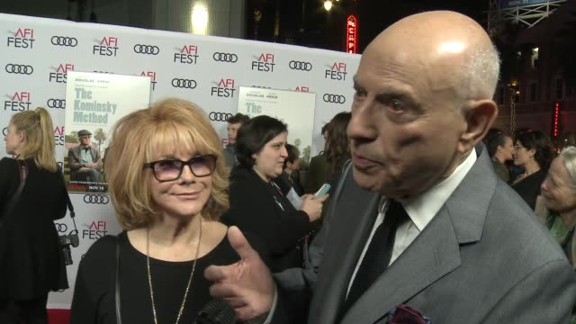 INTERVIEW AnnMargret and Alan Arkin at A Netflix Original Series The Kominsky Method Los Angeles Premiere At AFI Fest at TCL Chinese Theatre on...
